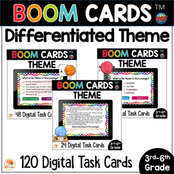 theme boom task cards