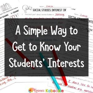 student-interest-inventories