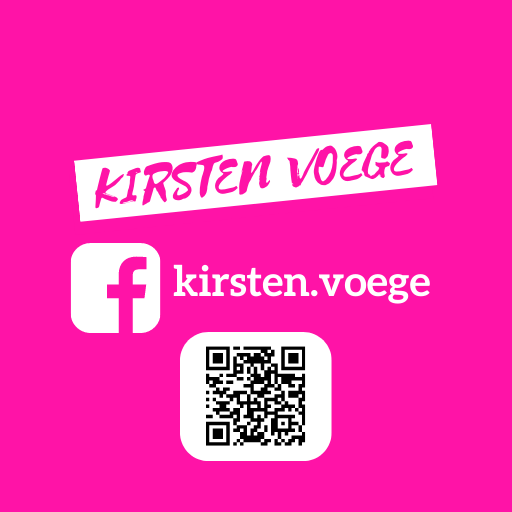 Kirsten Voege Social Media Feed FACEBOOK QR CODE