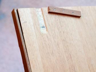 Damaged drawer, back