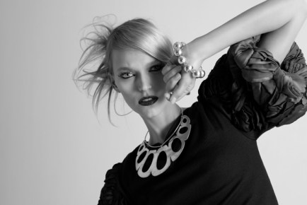 Photographer: Kirstin Knufmann (www.kirstinknufmann.com) Model: Sarah Deanna @ LA Models, Stylist: Tod Hallman @ THP inc. (www.thpfashion.com), Makeup: Terri Carter (www.terricarter.com), Hair: Michael Center-Sparks @ SoloArtists.com/Kerastase