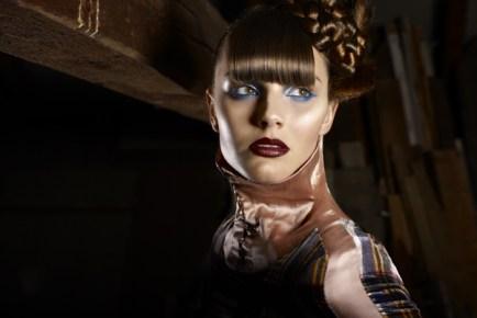 Makeup & Hair: Diana Galante @ Top Agents Styling: Dominik Laux @ Artistgroup Mierau Model: Nadine Photographer: Kirstin Knufmann (www.kirstinknufmann.com)