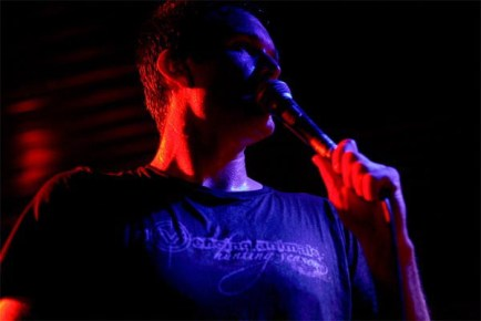 Talent: Marcus Bischoff (Heaven Shall Burn), Fotograf: Kirstin Knufmann