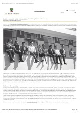 Nachstellung historisches Bauhausfoto
