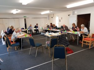 Watercolour painting with Kirstin White at Hamble Art Group
