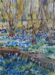 kirstin white - among the bluebells 877774042048566963..jpg