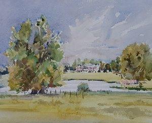 Avington Park Watercolour
