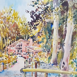Blackwater Woods Watercolour
