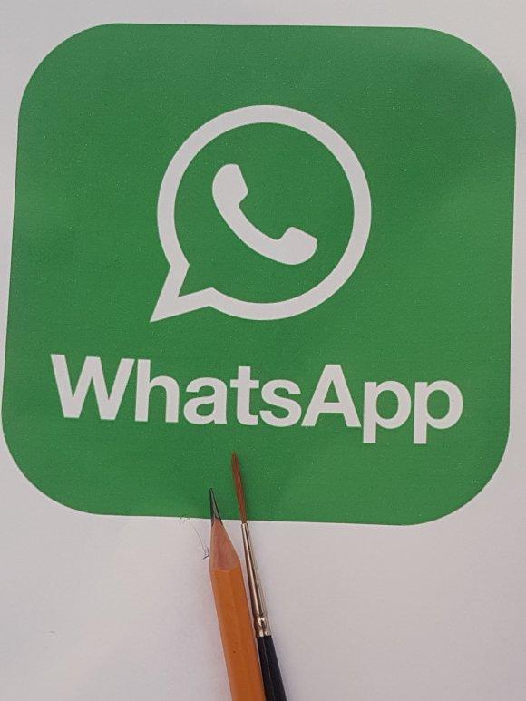 We use WhatsApp