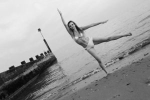 Kirsty Dee - photoshoot when I was an instructor