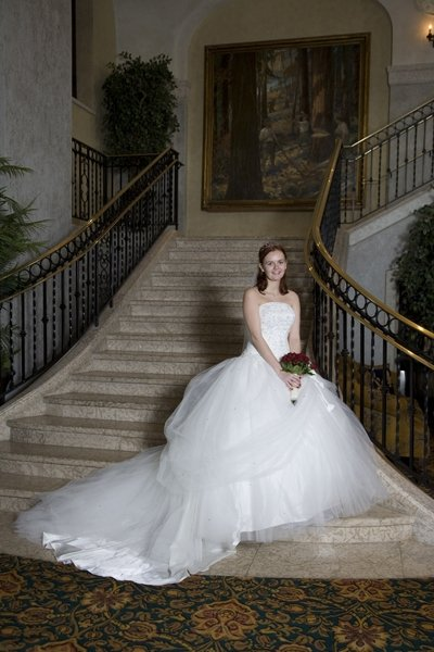 wedding dress photo
