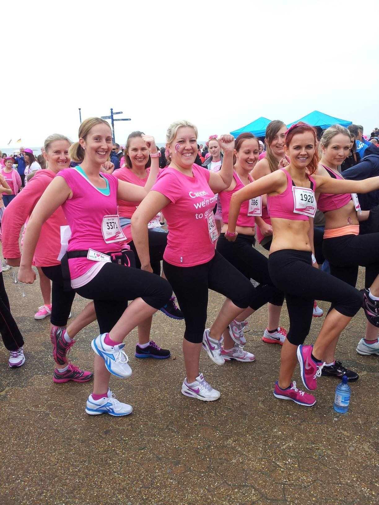 Race For Life Crop Top Challenge