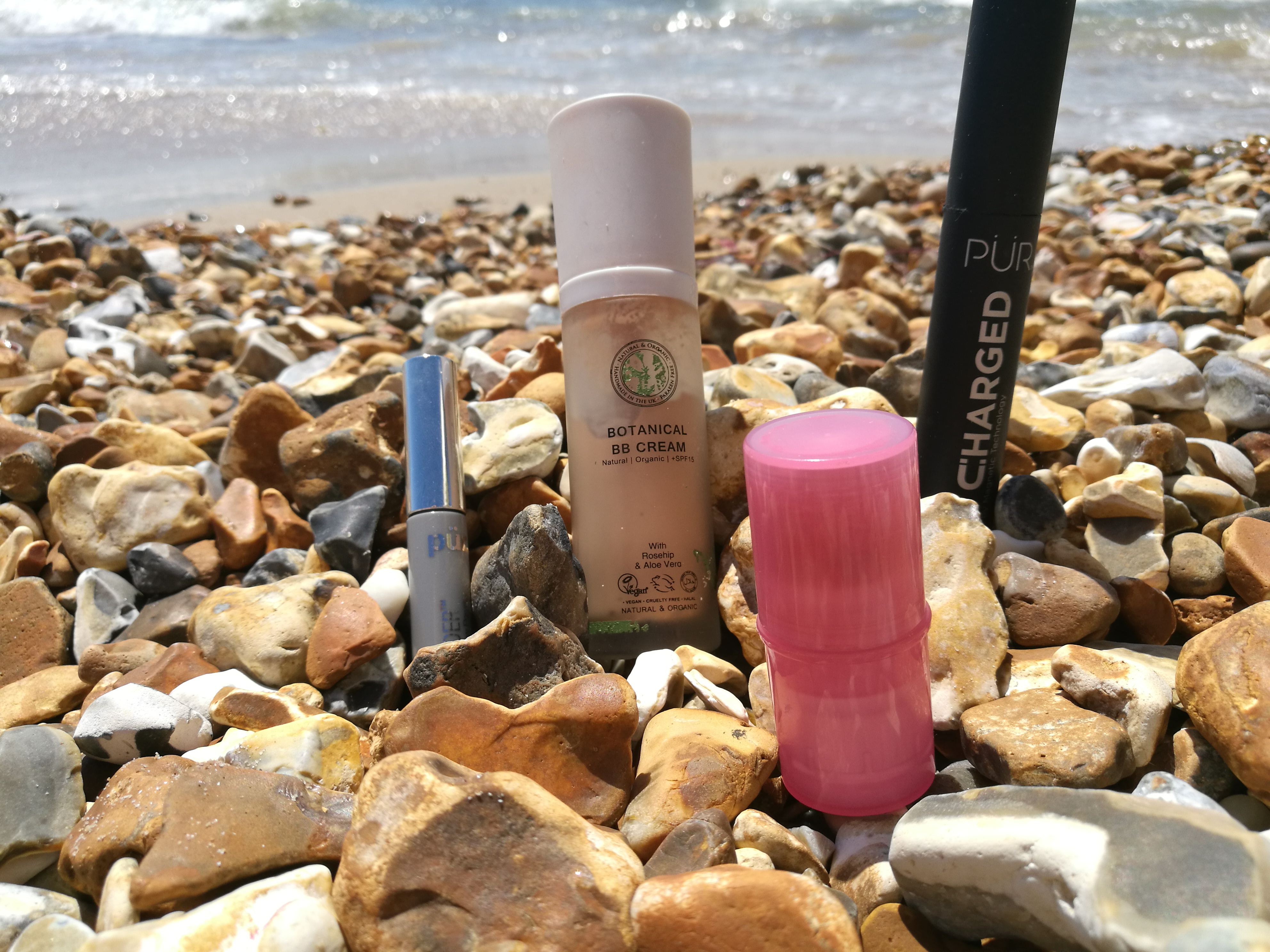 beach makeup products