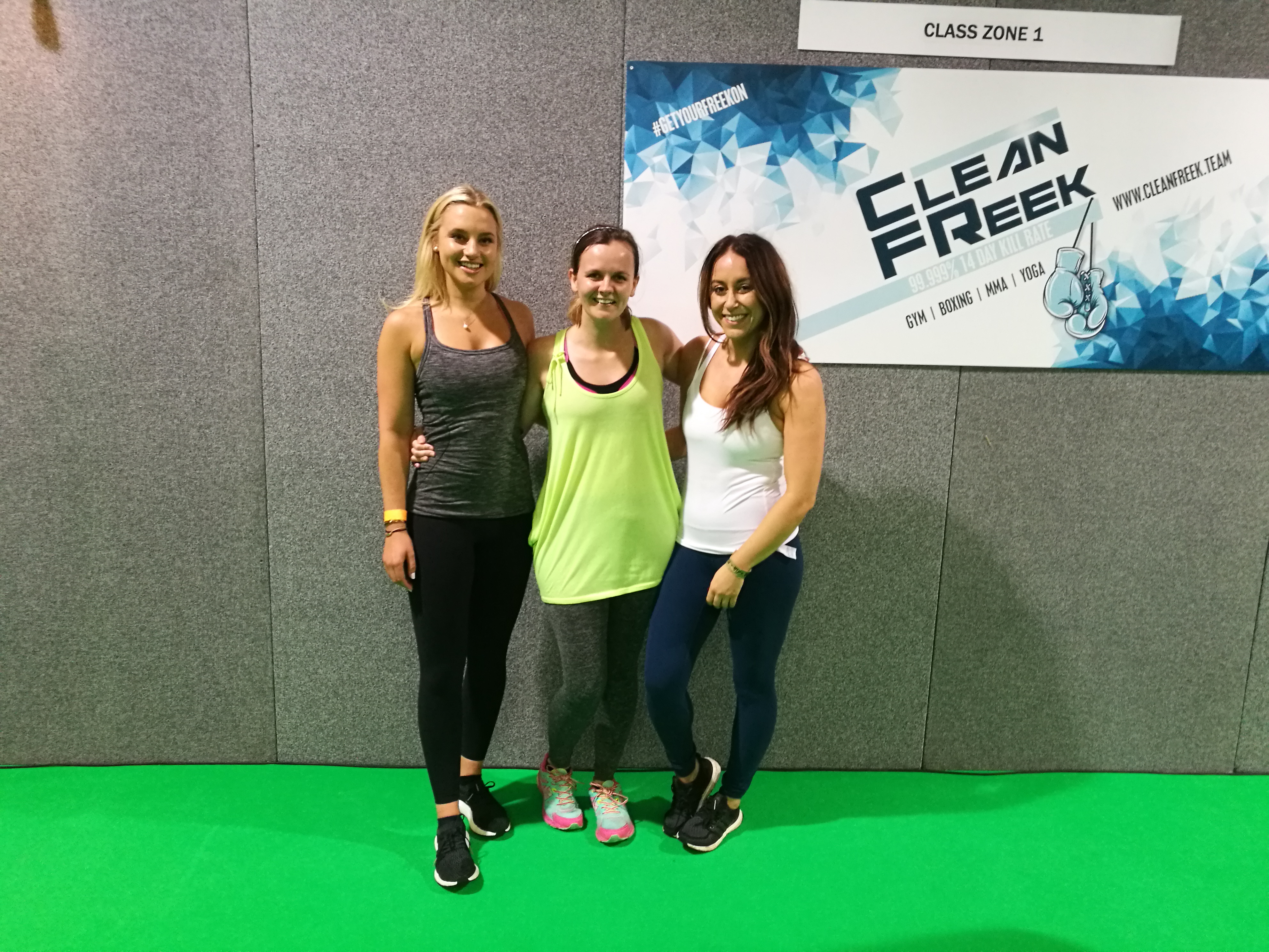 Fit Living UK High Intensity Class With Alt Healthy Becki and London Paleo Girl