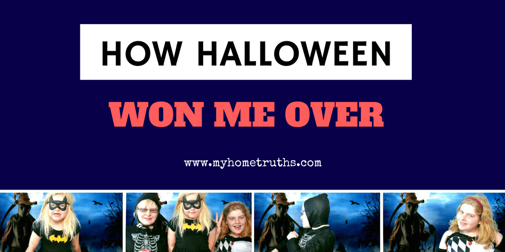 How Halloween Won Me Over - www.myhometruths.com