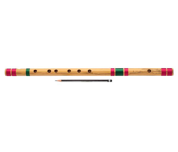 Профессиональная Флейта Бансури под правую руку | А#(ля-диез) 56см