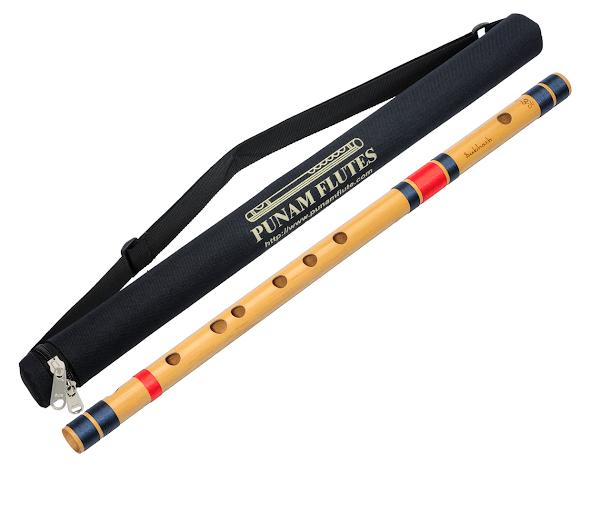 Профессиональная Флейта Бансури под правую руку | C(до) 49см