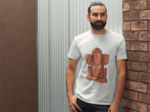 Ganesh_T-shirt_Men's_White