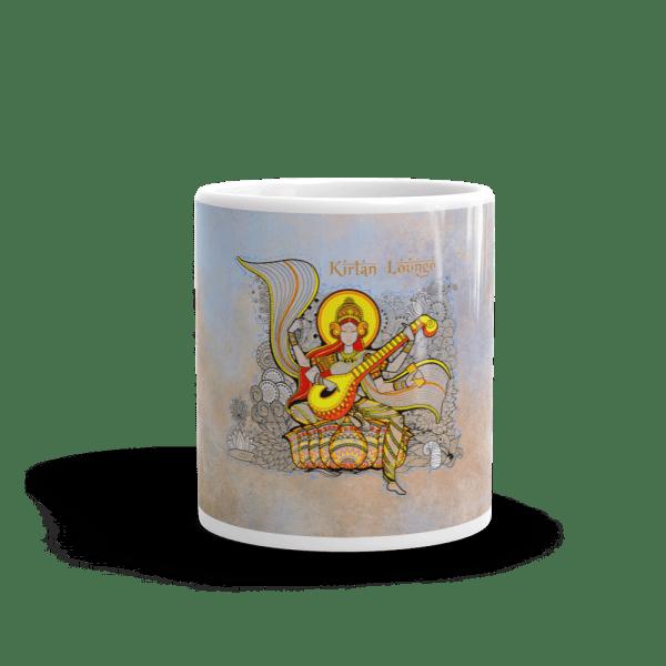 Coffee Mug Sarasvati print Front