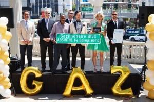 Clark County Renames The Strip 'Gazillionaire Blvd.' in Celebration of ABSINTHE's 7th Anniversary in Las Vegas_5.7.18_credit Al Powers