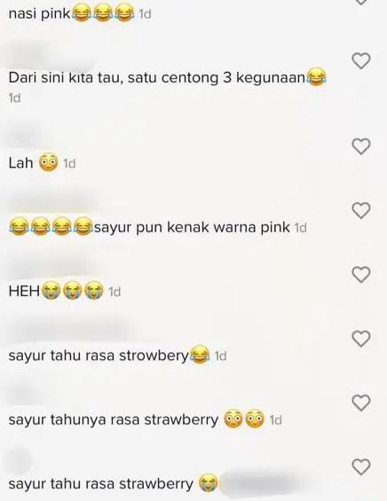 [VIDEO] Bahana Mak 'Hantu' Warna Pink, Anak Pasrah Makan Lauk Perisa Strawberry 3