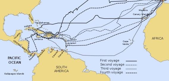 ekspedisi sejarah Columbus