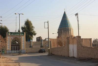 Tempat yang dipugar orang-orang Syiah dan diklaim sebagai makam Abu Lu'lu'ah, yang nama aslinya Fayruz. Terletak di Kota Kashan, Iran.