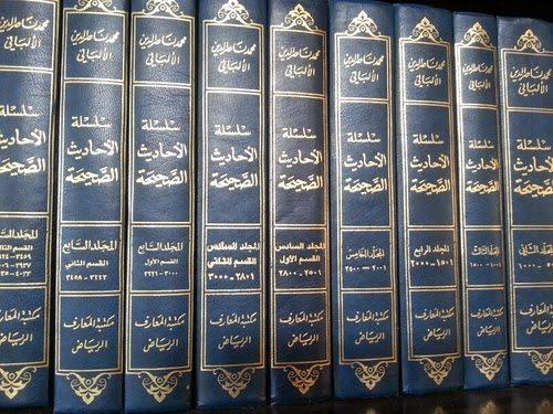 7 jilid besar kitab Silsilah al-Ahadits ash-Shahihah. Karya ini yang dianggap para ahli membedakan Syaikh al-Albani dengan ahli hadits lainnya. Karena ia memiliki ensiklopedi karyanya sendiri.