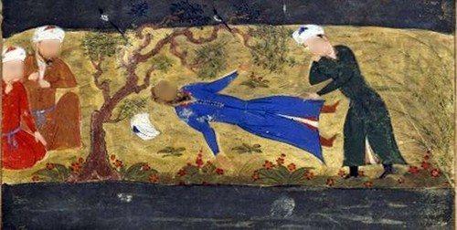 Muhammad Khawarizm Syah II yang wafat dalam keadaan tak memiliki kain kafan.