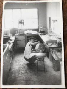 園食堂厨房 昭和40年代前半頃