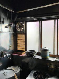 園食堂厨房 2017年夏かき氷機なし