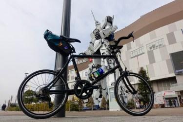 ユニコーンガンダム詣でお台場サイクリング