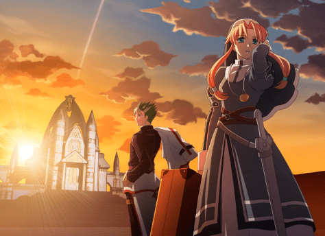 Sora no Kiseki the 3rd - Kevin & Ries