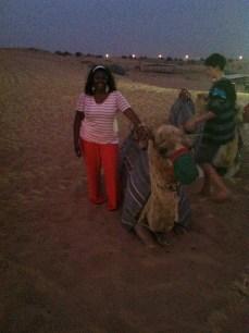 Kisha Camel riding in Dubai