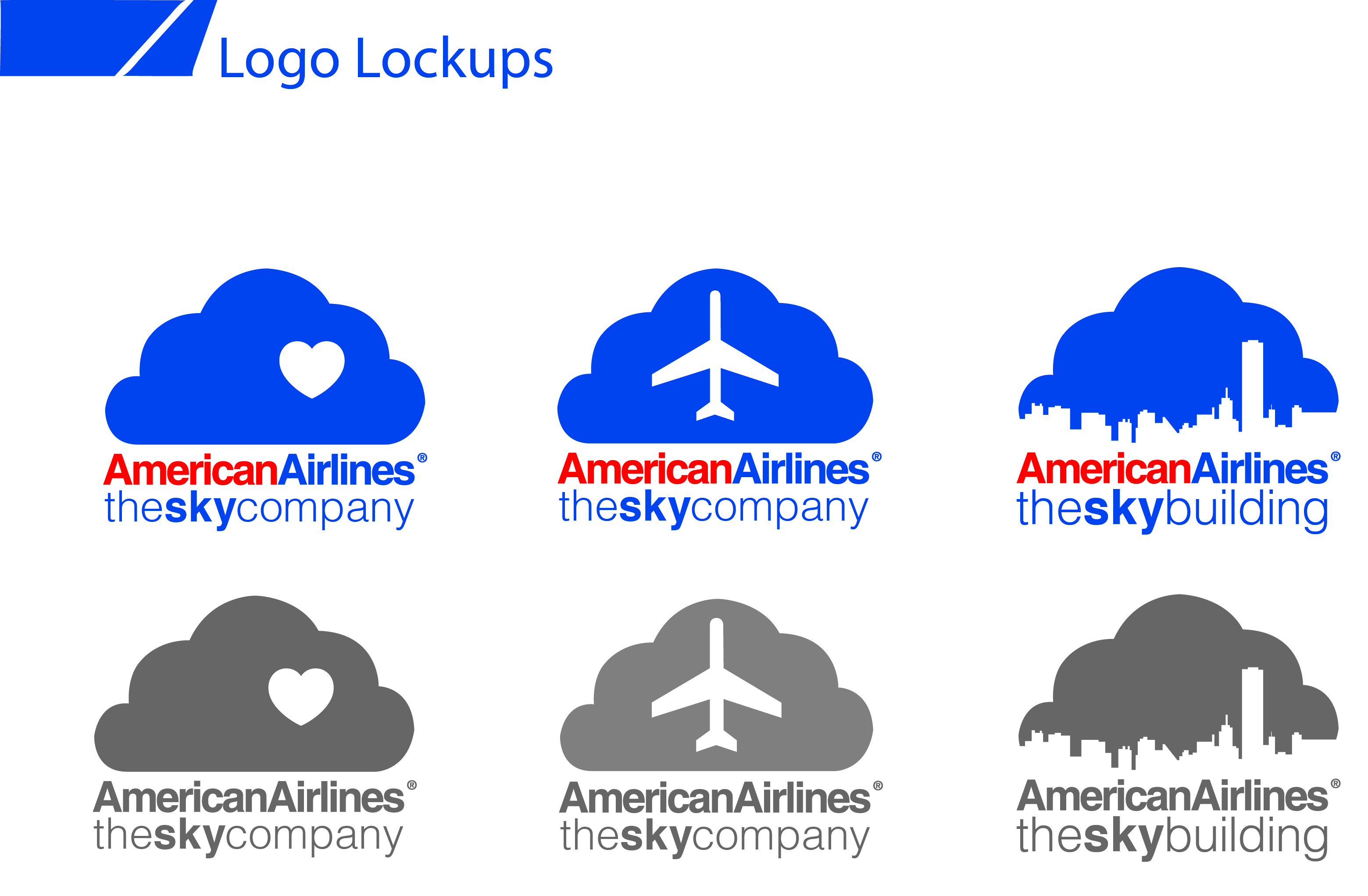 American Airlines Logo Redesign