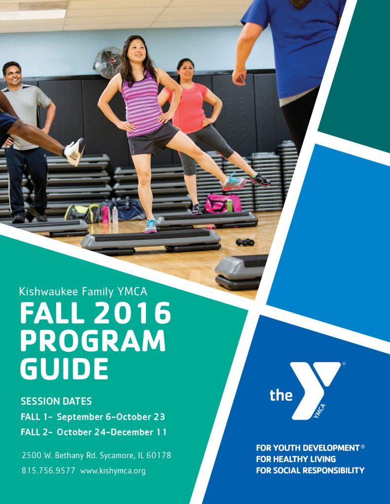 FALL 2016 Program Guide Cover  Kishwaukee Family YMCA