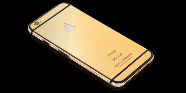 altın-kaplama-iphone