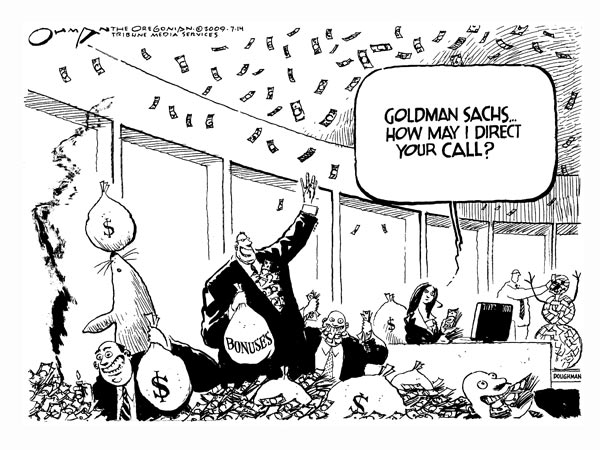 Finance Crime on a Grand Scale and the Case of Goldman