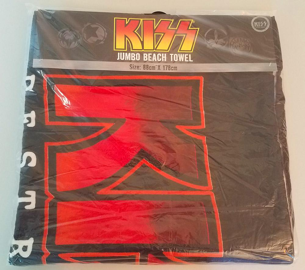 007988f17 KISS Destroyer Jumbo Beach Towel – KISS Addiction