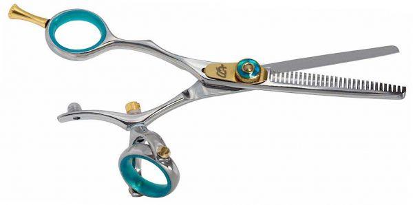 Kanagawa L 30 tooth B Left Handed Thinning Shears Double Swivel