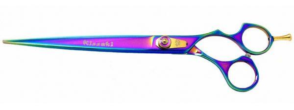 Kareru 8.5″ Dog Grooming Scissors Rainbow Titanium