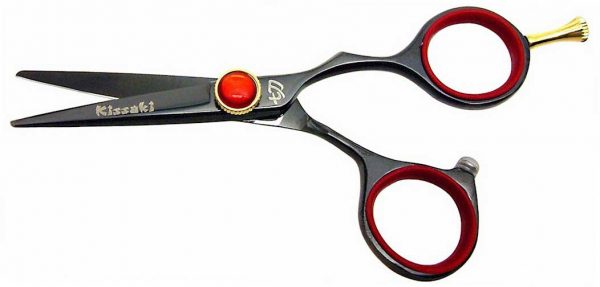 Kogai 4.5″ Hair Scissors Black Titanium Hair Shears