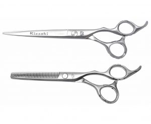 Futasuji 7.0″ Hair Scissors & Ishizuki 32t Thinning Shears