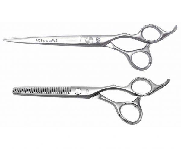 Futasuji 7.0″ Hair Scissors & Ishizuki 32t Thinning Shears