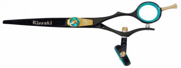 Gokatana 6.0″ Hair Scissors Double Swivel Black B Titanium