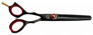 Daisaku L 26 tooth Left Handed Thinning Shears Black R Titanium