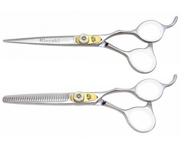 Horimono 6.0″ Hair Shears & Tobiyaki 30t Thinning Shears Set