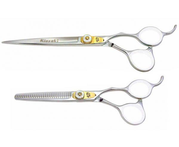 Horimono 7.5″ Hair Shears & Tobiyaki 30t Thinning Shears Set