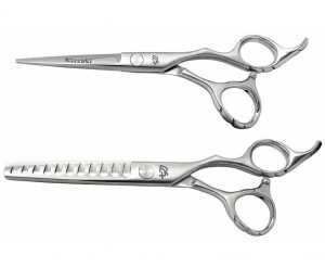 Futasuji 5.5″ Hair Scissors & Ishizuki 11t Thinning Shears