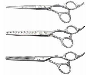 Futasuji 6.0″, Ishizuki 32 tooth & 11 tooth 3 Hair Scissors Set